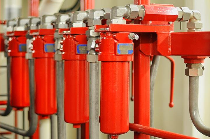Hydraulik Filtertechnik und Ölreinheismessungen