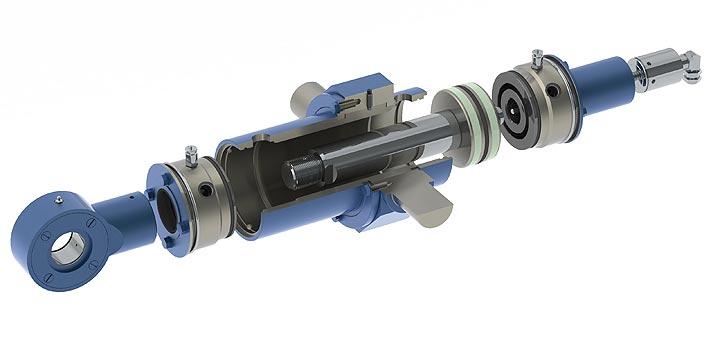 Reparatur und Service von Hydraulikanlagen